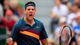 ¡Gigante! Del Potro barrió a Thompson y avanza en Roland Garros