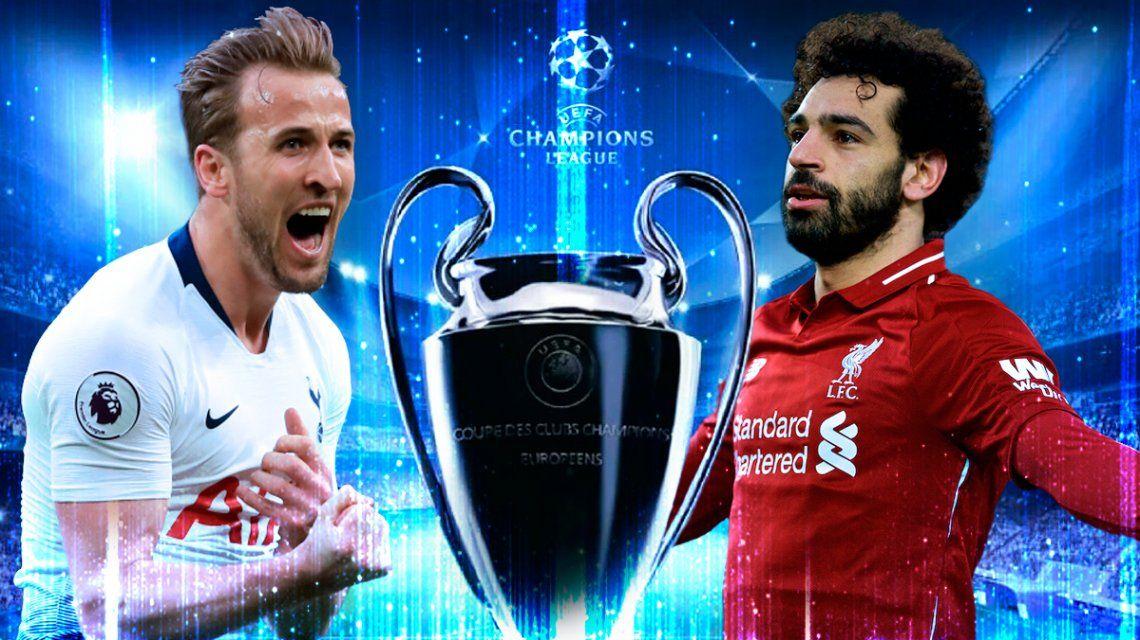 Tottenham vs Liverpool en la final de la Champions League: horario, formaciones y TV