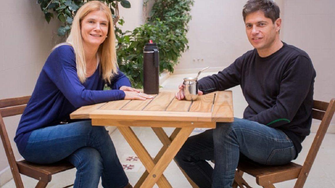 Kicillof y Magario se mostraron juntos tras la oficialización de la fórmula
