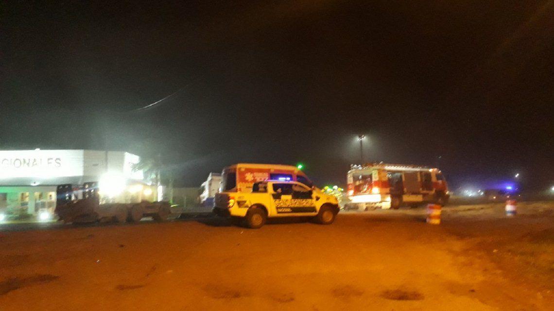 Sunchales: seis muertos por el choque de un camión y una camioneta