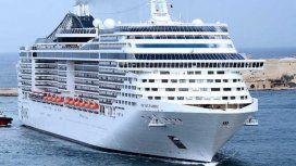 Así fue el choque entre un crucero y un buque en Venecia