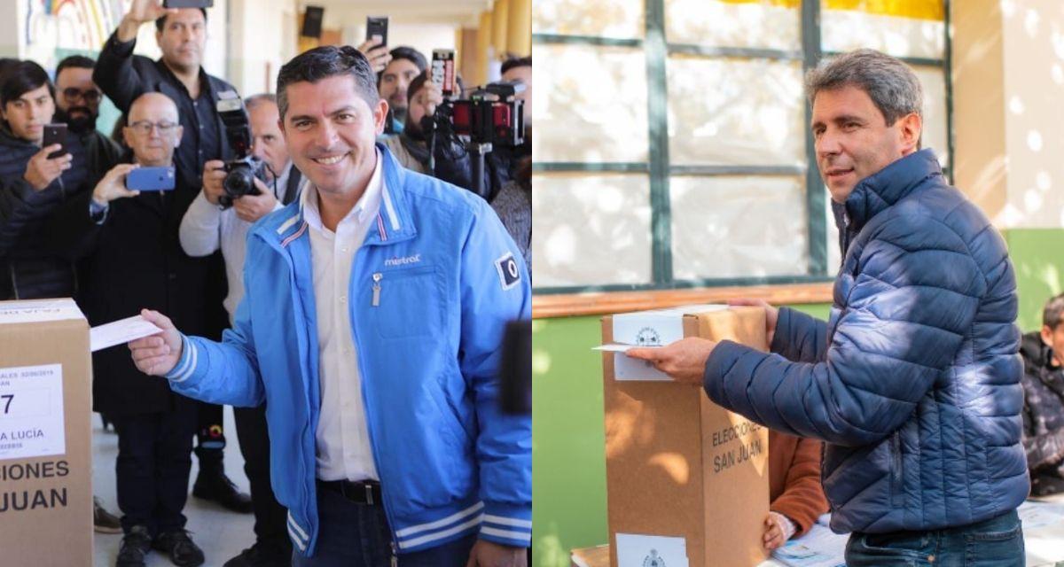 Uñac le sacó más de 20 puntos al candidato de Macri y es reelecto en San Juan