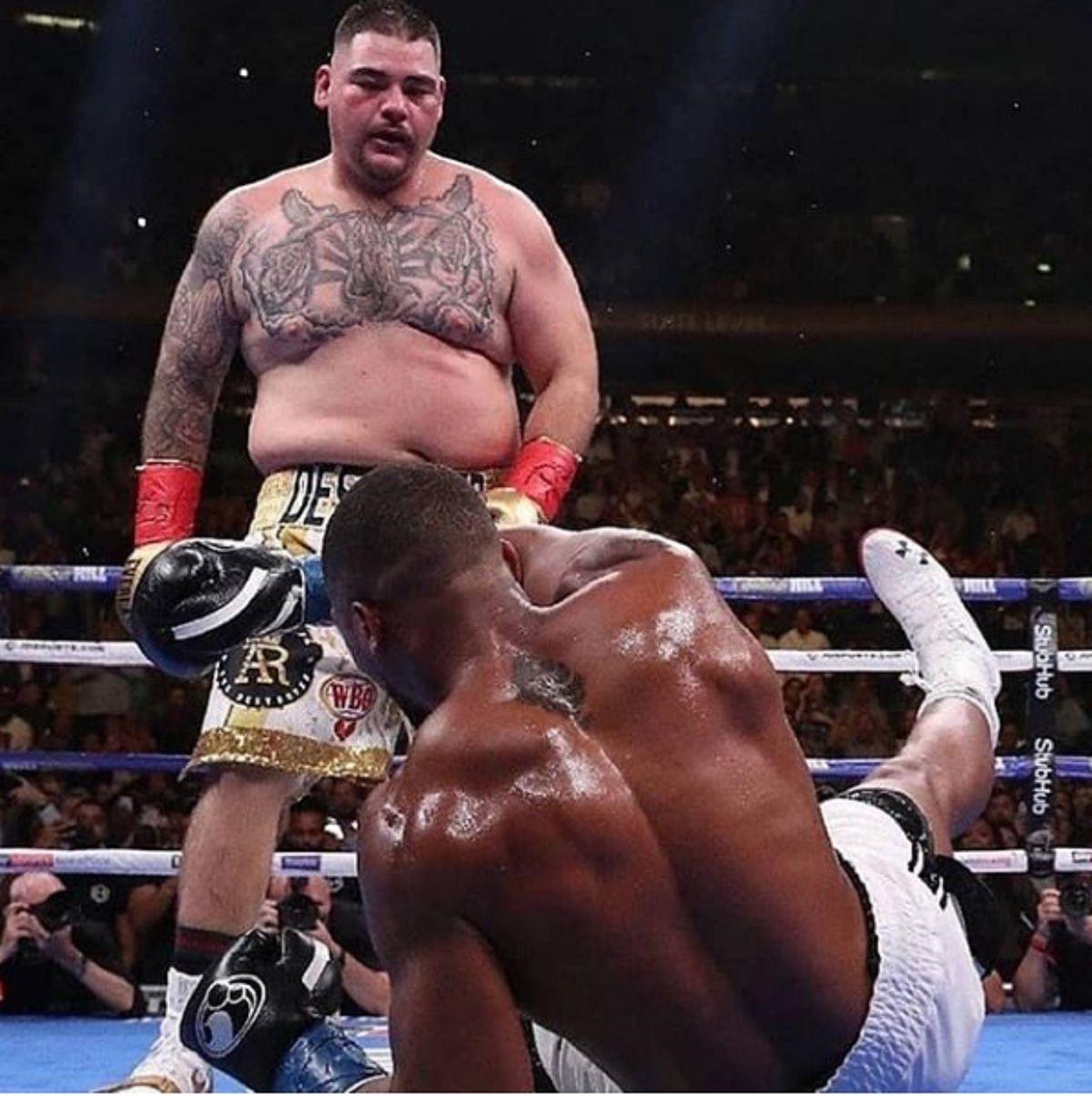 Boxeo: el KO de Andy Ruiz a Anthony Joshua