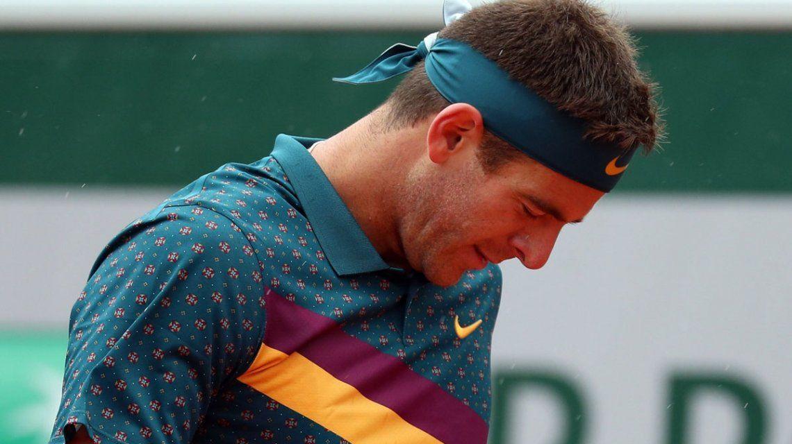 Del Potro no pudo ante Khachanov y quedó afuera de Roland Garros