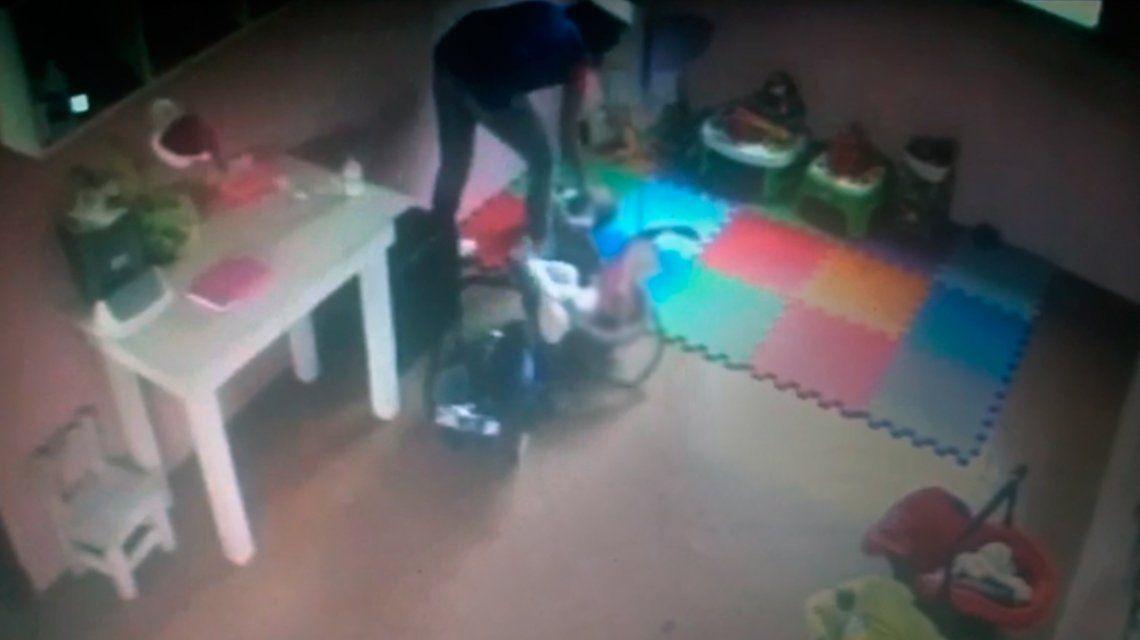 VIDEO: Así maltrataban a una beba de cuatro meses en un jardín de La Plata