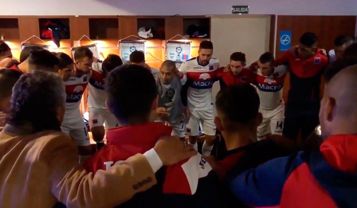 La emotiva arenga de Tigre antes de la final de la Copa de la Superliga ante Boca