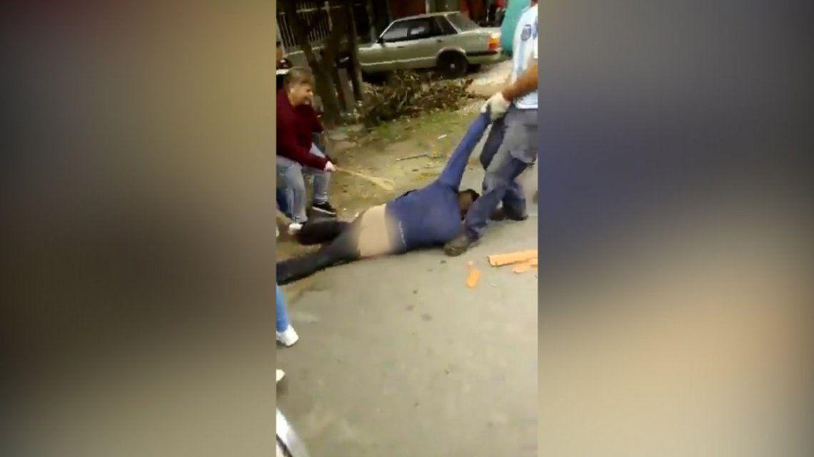 Intentaron linchar a un hombre en Bernal por un abuso sexual