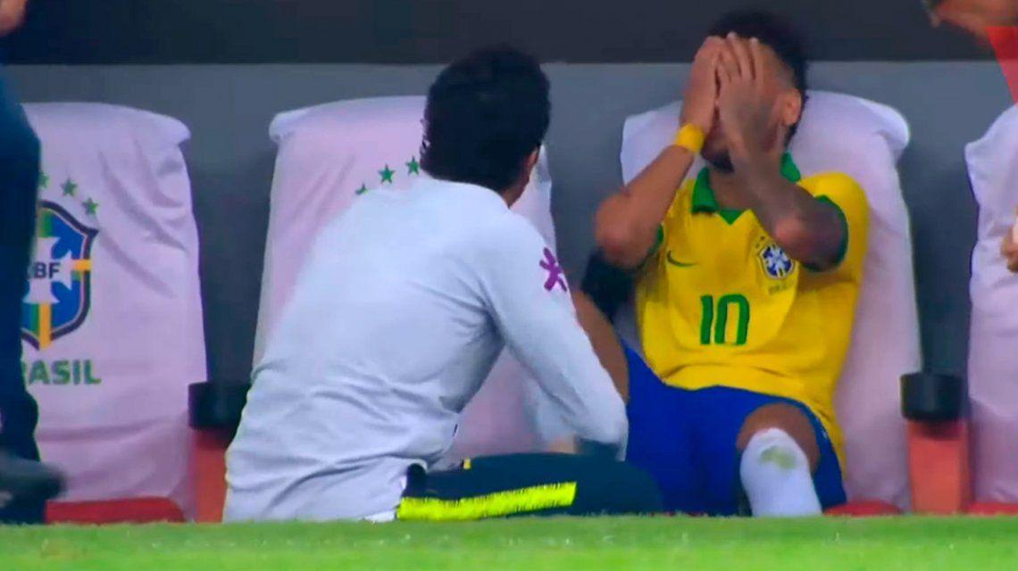 Se confirmó que Neymar estará cuatro semanas afuera de las canchas