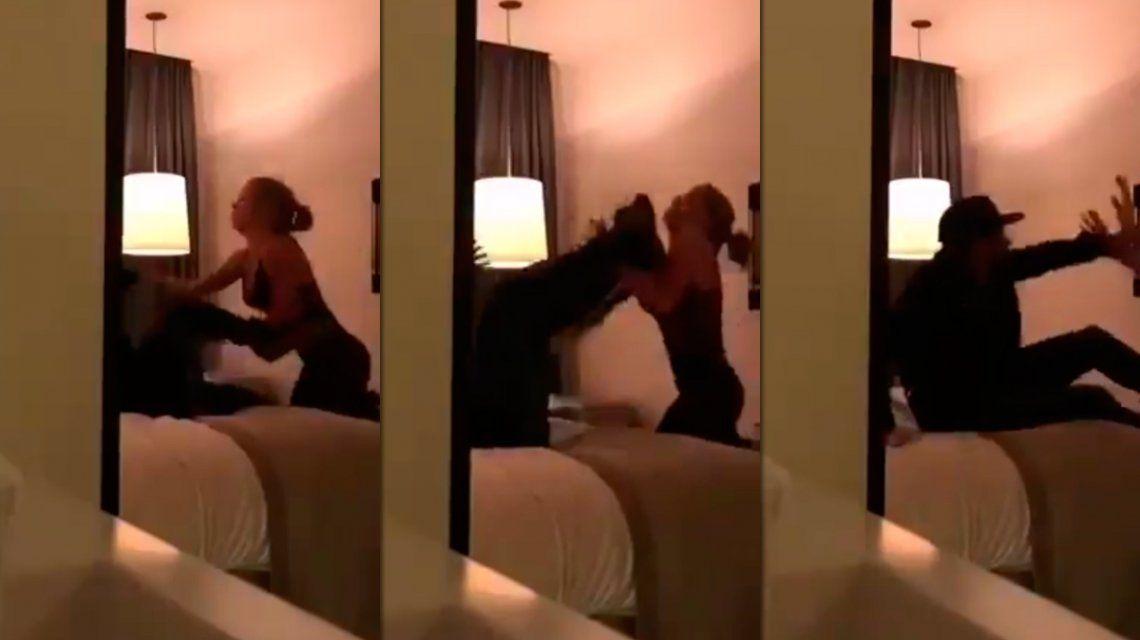 El video de la pelea entre Neymar y Najila Trindade, la modelo que lo denunció por violación