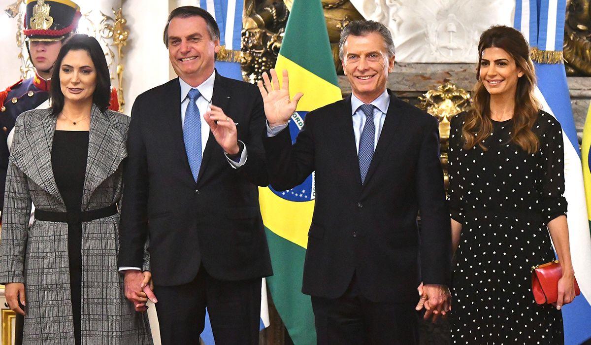 Macri y Bolsonaro se reunieron en Casa Rosada en la primera visita del brasileño al país