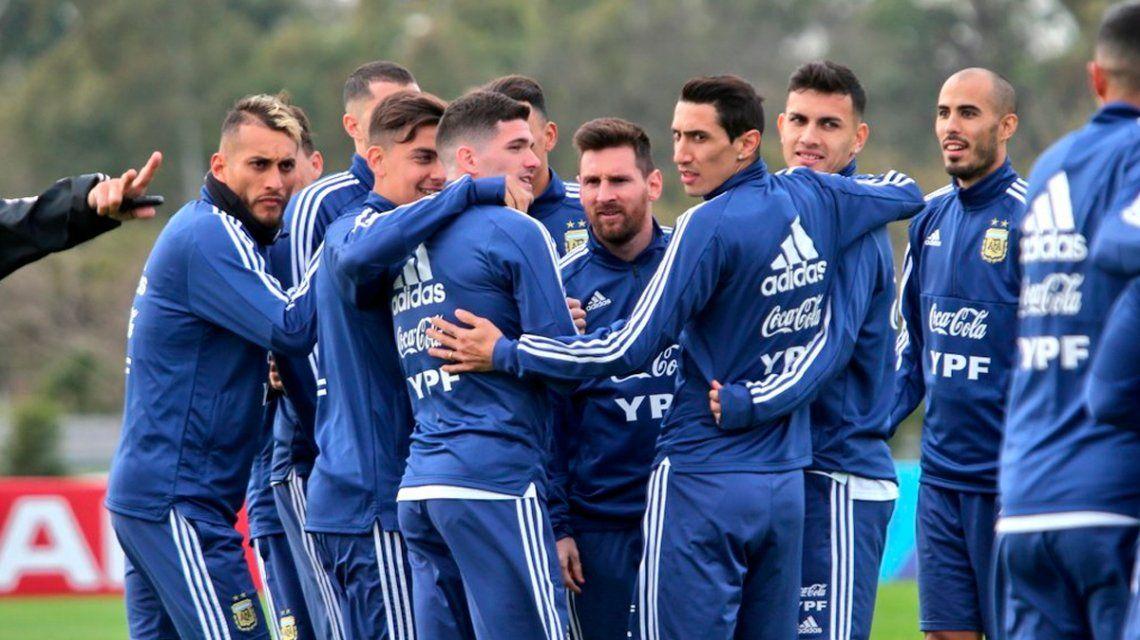 El posible equipo titular de Argentina para el amistoso ante Nicaragua