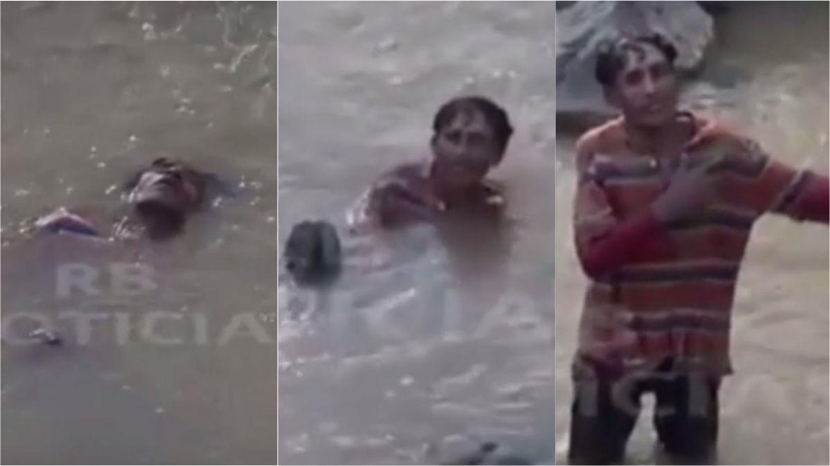 Levántate y anda: lo dieron por muerto y sorprendió al emerger de un río