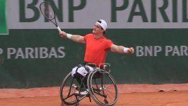 Un argentino es finalista de Roland Garros en tenis adaptado