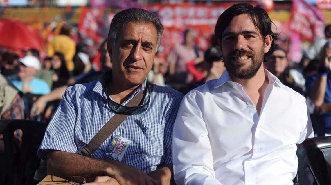 Néstor Pitrola y Nicolás Del Caño