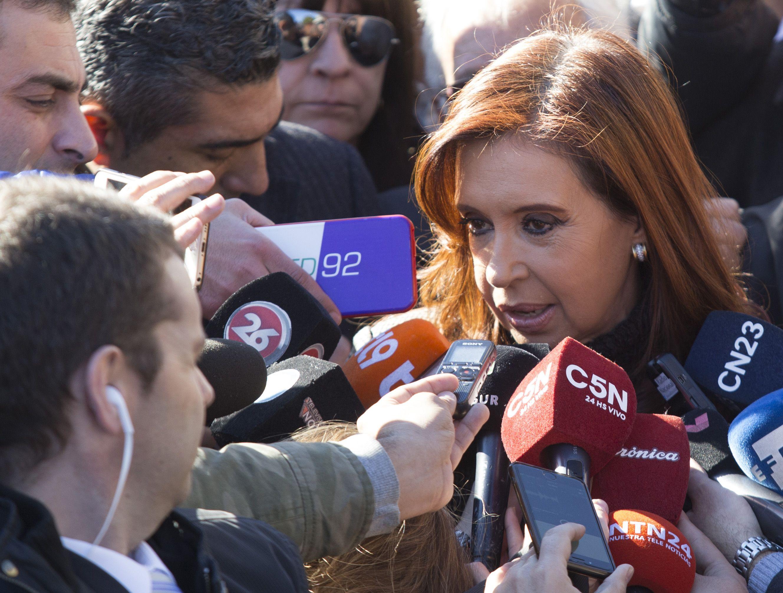 Cristina Kirchner denunció que  la campaña judicial ya arrancó
