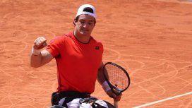 ¡Enorme! Gustavo Fernández campeón de Roland Garros en tenis adaptado