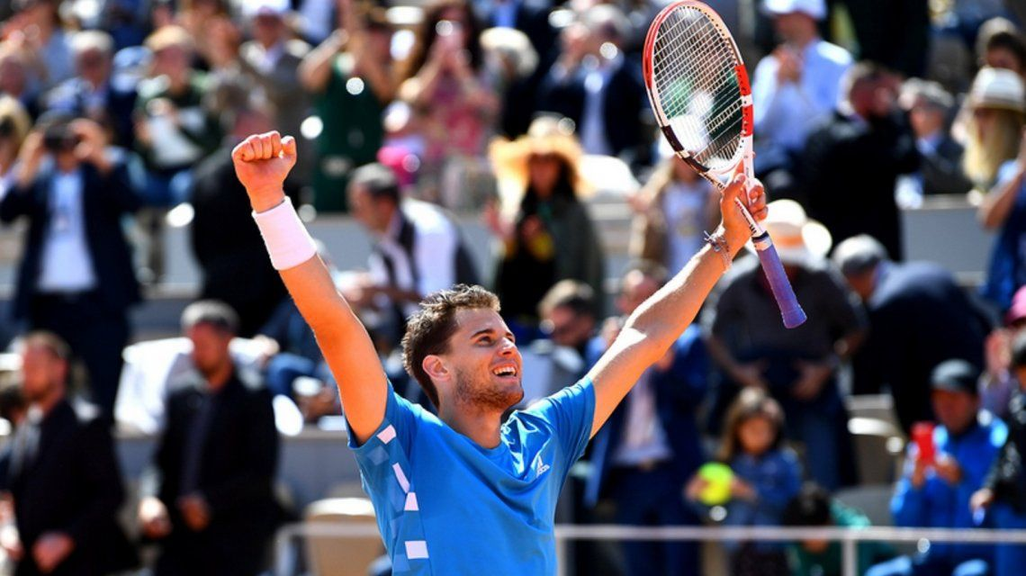 Thiem eliminó a Djokovic y enfrentará a Nadal en la final de Roland Garros