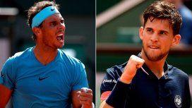 En la final de Roland Garros, Nadal y Thiem se vuelven a ver las caras