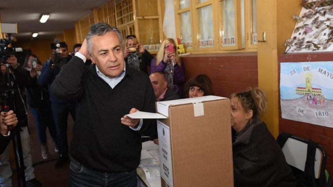 Alfredo Cornejo. Foto: mdzol.com