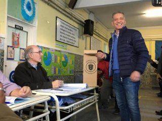 chubut: gano el actual gobernador mariano arcioni con mas del 38%