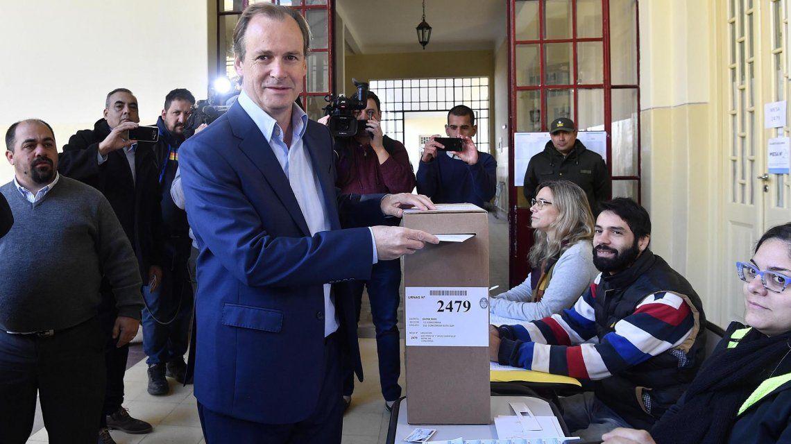 Entre Ríos: ganó el gobernador Gustavo Bordet  con más del 57% de los votos