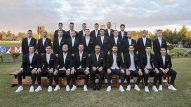 La foto oficial de la Selección argentina que disputará la Copa América 2019