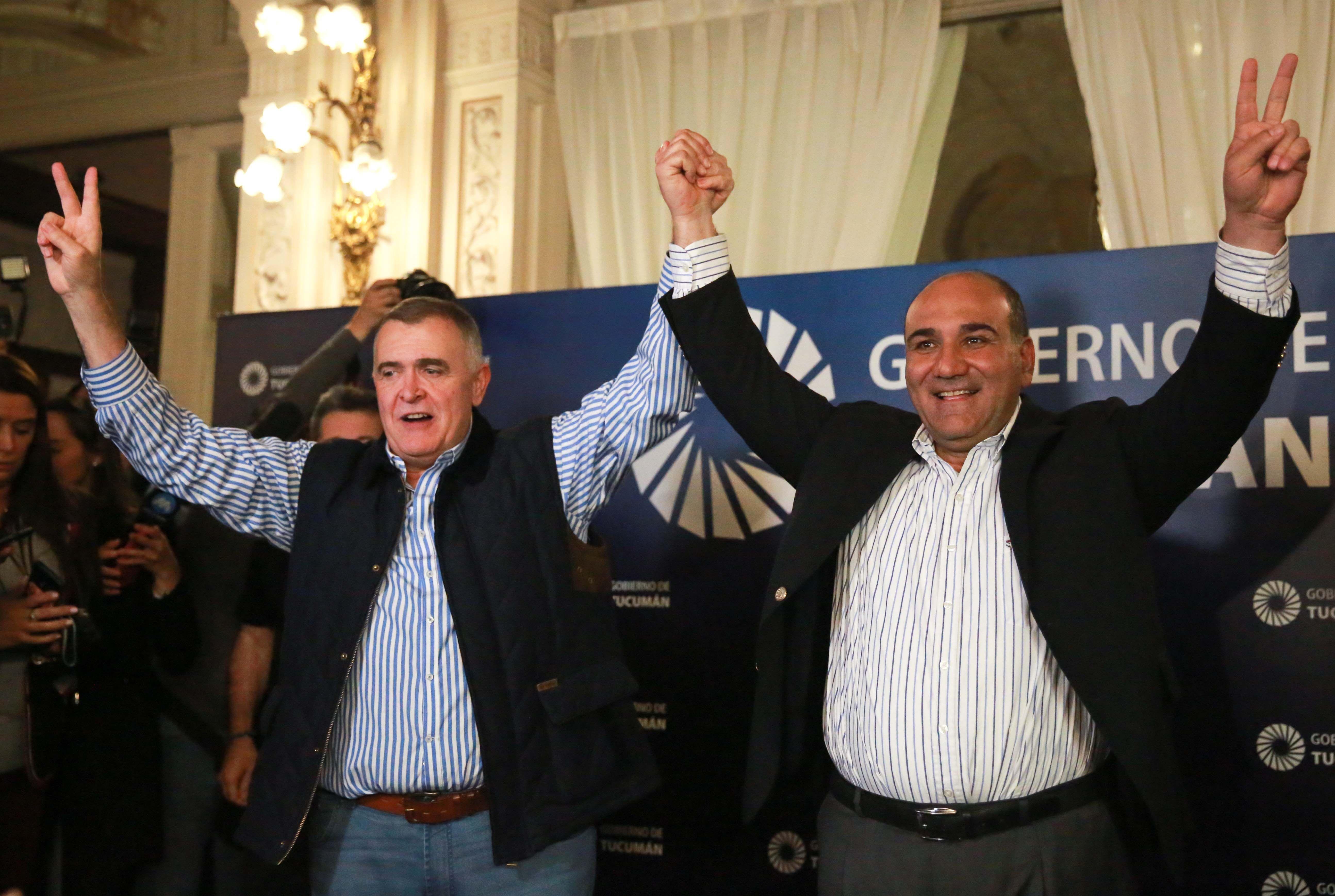 Manzur arrasó en Tucumán y manifestó su apoyo a Fernández - Fernández