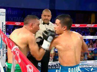 boxeo: el mexicano orucuta perdio por ko y ahora pelea por su vida