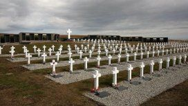 Identificaron al soldado 115 enterrado en las islas Malvinas