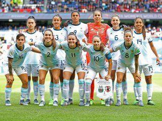 Selección argentina de fútbol femenino. Foto: @Argentina