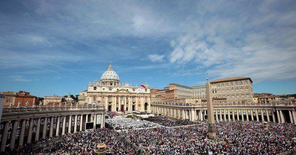 Vista panorámica del Vaticano