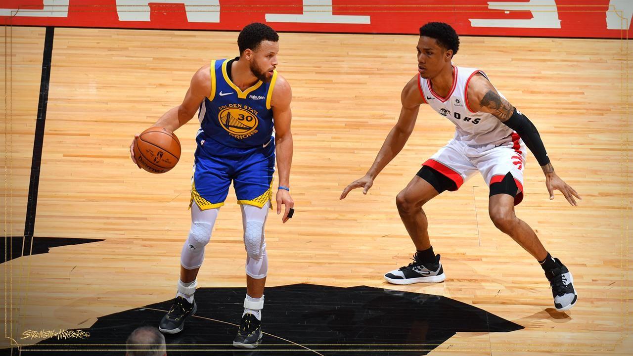 Final de la NBA: Golden State Warriors le ganó a los Raptors de Toronto en el quinto juego