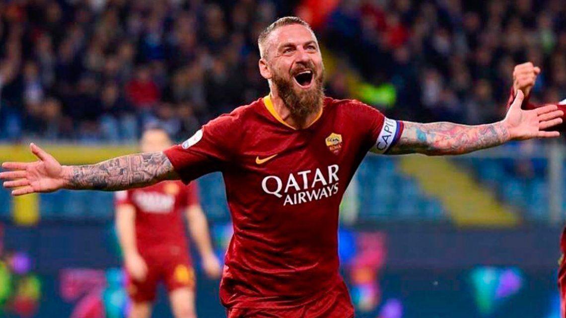 Luego de coquetear con Boca, Daniele De Rossi decidió retirarse del fútbol
