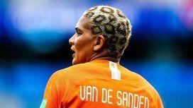 Una delantera de Holanda cautivó a todos con su particular look en el Mundial de fútbol femenino