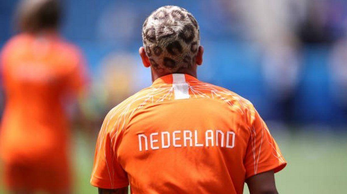 Shanice van de Sanden y su particular look en el Mundial femenino de fútbol
