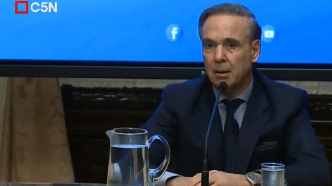 Pichetto dijo que no cambiará su postura sobre el pedido de desafuero de Cristina Kirchner