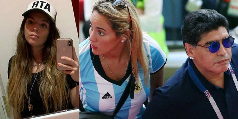 Furiosa, Dalma Maradona desmintió un encuentro con Diego y su hija Roma