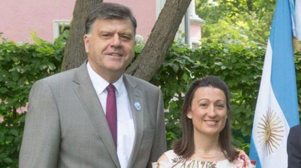 Edgardo Malaroda y su esposa Verónica Albanesi