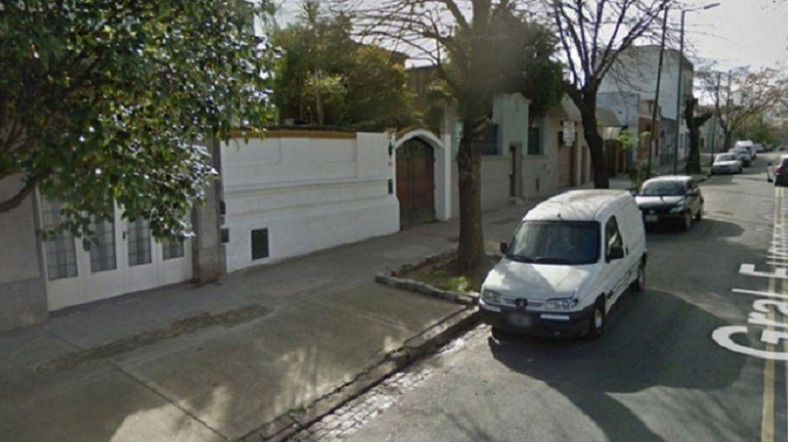 Zona donde asesinaron al matrimonio. Captura de Google maps