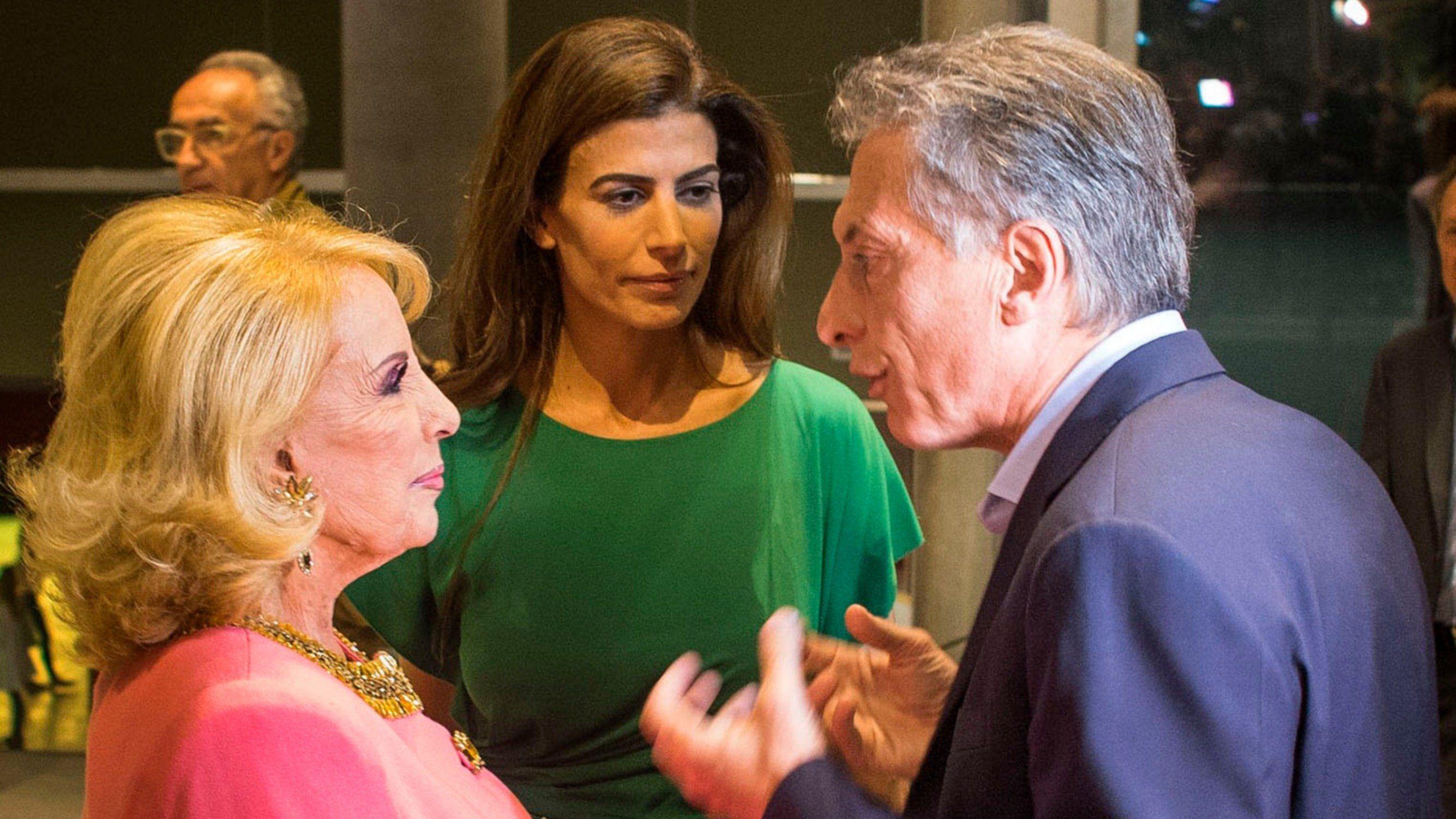 Mirtha Legrand criticó la elección de Miguel Ángel Pichetto como vice de Macri
