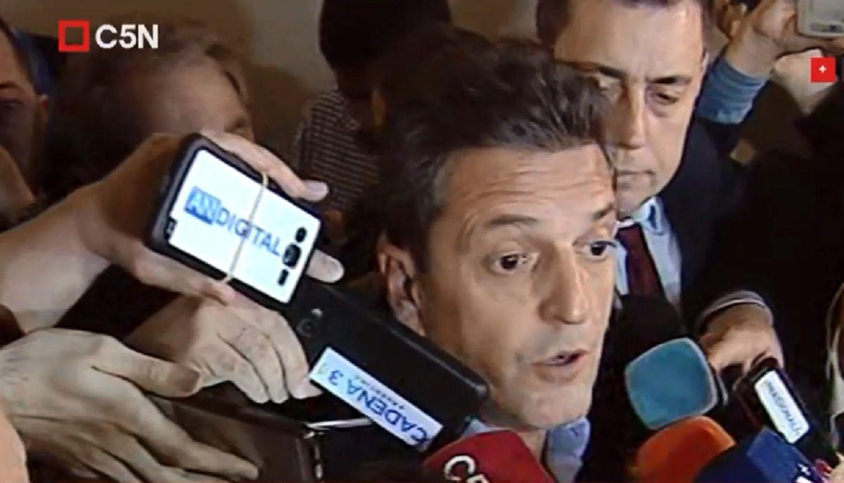 Massa, tras la reunión con Alberto Fernández: Construimos una coalición de partidos