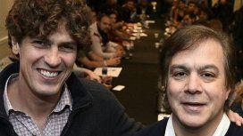 Martín Lousteau y Roy Cortina