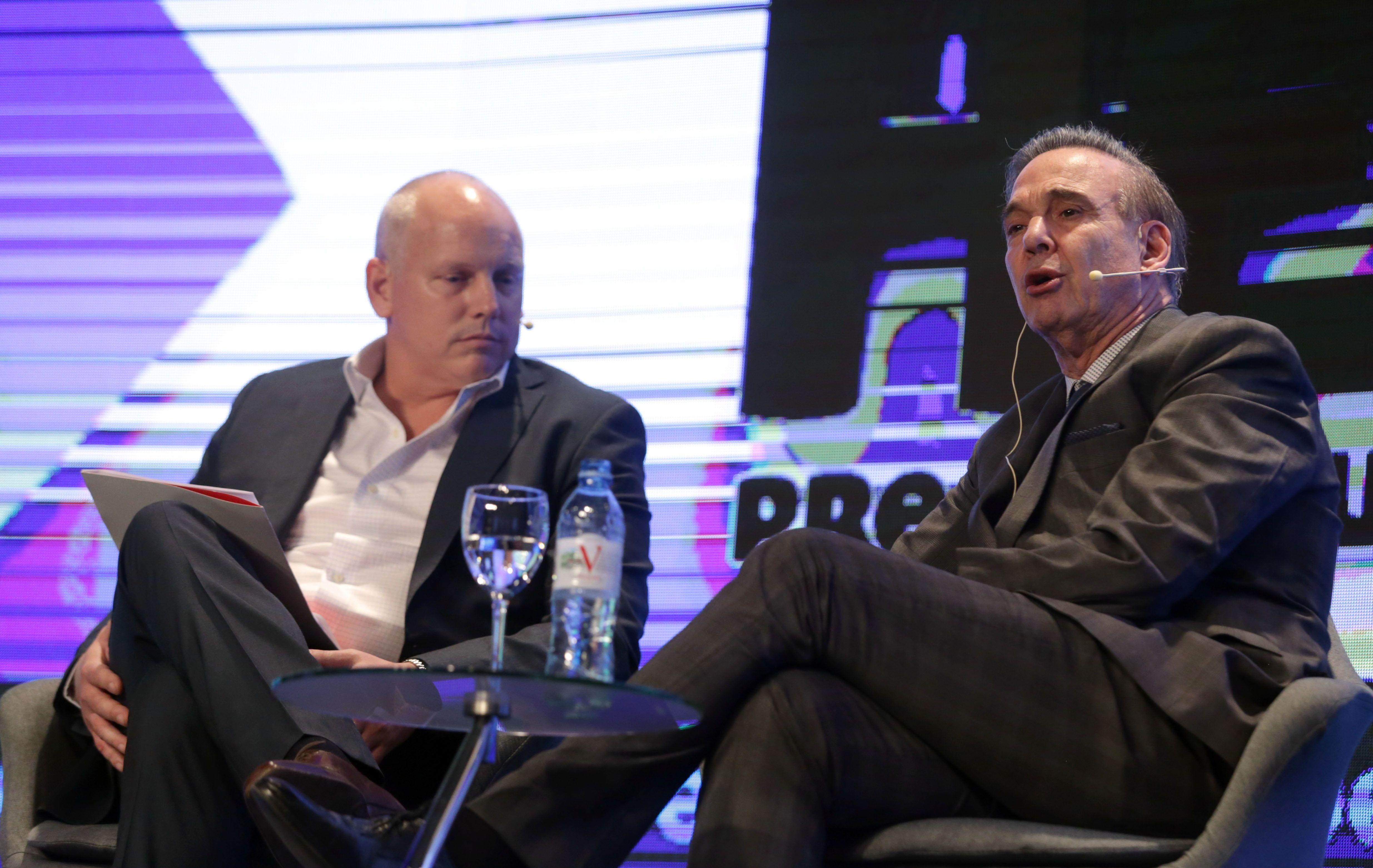 Pichetto debutó como vice de Macri: Argentina necesita más emprendedores y menos cartoneros