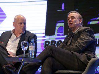 pichetto debuto como vice de macri: argentina necesita mas emprendedores y menos cartoneros