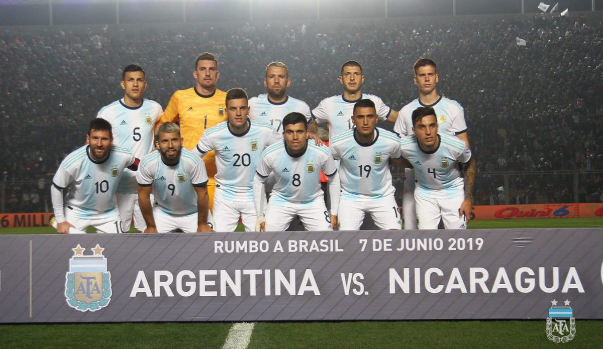 Copa América Brasil 2019: elegí la formación de Argentina para enfrentar a Colombia