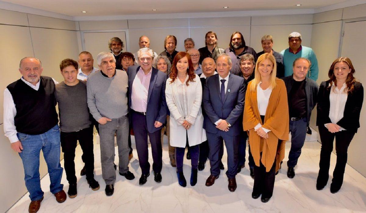 Amplio respaldo del movimiento sindical a los precandidatos del Frente de Todos