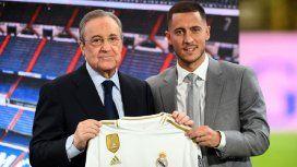 Eden Hazard presentado como nuevo jugador del Real Madrid