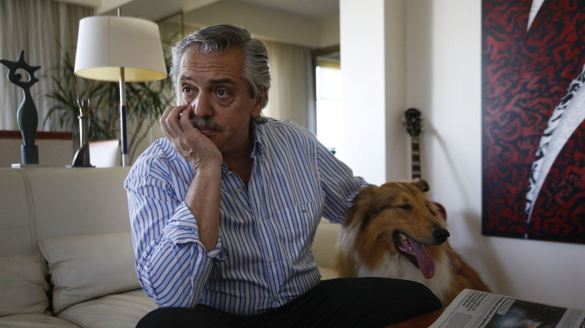 """Alberto Fernández disparó contra Pichetto y dijo que """"la euforia de los mercados es muchas veces la tristeza de los pueblos"""""""