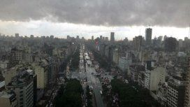 Sábado fresco y algo nublado en la Ciudad y el Gran Buenos Aires
