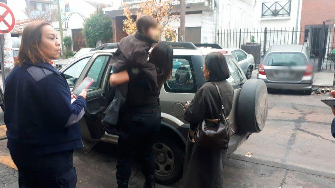 Santiago se reencontró con su mamá luego de 12 horas